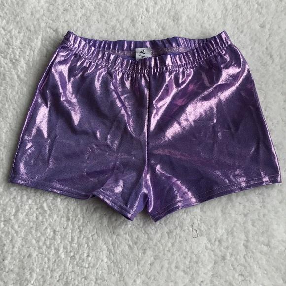 Other - Glitter ✨ Purple girls spandex